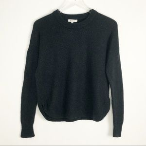 MADEWELL Westlake Pullover Sweater XS Black